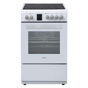 Готварска печка (ток) Sharp KF-66FVDD22WM-CH*** , 600x850x600 ш/в/д mm, Керамични